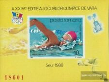 Romania Block243 (complete issue) unmounted mint / never hinged 1988 Olympics Su