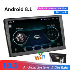 10.1inch Android 8.1 Double 2Din  Car Stereo Radio GPS Navi WiFi Mirror Link