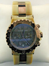 Michael Kors MK5596 Dylan Horn Acetate Women's Chronograph Watch