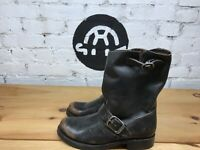 Women's Distressed Veronica Short Brown Frye Boots Size 7.5