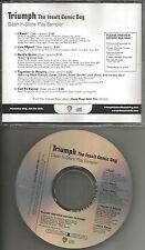 TRIUMPH The Insult Comic Dog w/ ADAM SANDLER & Jack Black PROMO Sampler DJ CD