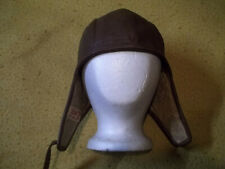 Vintage Buco Leather Helmet,Product J. Buegeleisen, Detroit adjustable strap