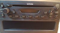 00 01 02 03 Saturn Vue ION LS2 LS1 SL1 Radio Single CD Player Model 21025330