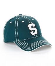 Michigan State Spartans Green Adjustable Baseball Hat NWT