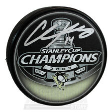 Chris Kunitz Pittsburgh Penguins Signed Autographed 2009 Stanley Cup Champs Puck