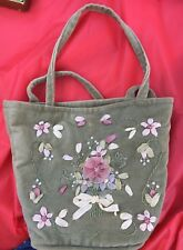 Cute Victoria's Garden Bag With Snap! Pretty Design. Please Check The Pictures.