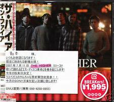 The Higher - On Fire - Japan CD+1BONUS+1VIDEO - NEW