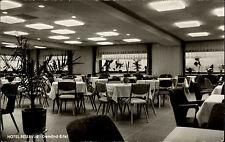GEMÜND Eifel Hotel Bellvue Innenansicht Restaurant ca. 60er Jahre Postkarte