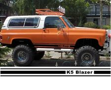 VEHICLE GRAPHIC K-5 BLAZER ROCKER PANEL STRIPE,PINSTRIPE, CUSTOM GRAPHIC