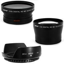 72mm Lens Hood Petal,Wide Angle,Telephoto Lens for PANASONIC DVX100B,DVX100 NEW