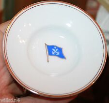 Tea set for 6 from Commander & Chief of the Taiwanese Armed Forces w/ insignia