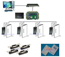 125khz PROXCARDⅡ Card Reader 4 Door Secure Control System with ANSI Strike Lock