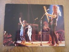 Carte postale Postcard AC/DC musicien MUSIQUE Hard Rock 12 x 17 cm