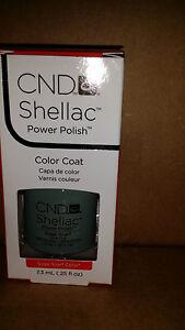 Creative CND Nail Shellac ~ Sage Scarf  ~ Soak Off Gel Polish .25 oz