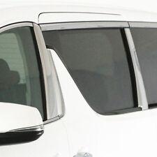 SUS304 Stainless Steel Pillar Cover Trims For Toyota Alphard Vellfire 30 2015+