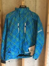NWT FXR Jacket Coat Winter Snowmobiling Womens Size 16 Blue, Warm! GREAT Jacket!