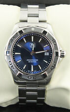 WAP1112.BA0831  Tag Heuer Aquaracer Swiss Quartz Blue Dial Stainless Steel Watch