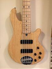 Lakland Skyline 55-01 5-String Bass Guitar PICKUP & PREAMP UPGRADE, natural