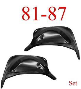 81 87 Chevy Inner Front Fender Set, Truck, Suburban, Blazer 0851-365, 0851-366