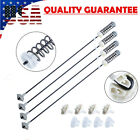 4Pcs W10780045 Suspension Rod Kit for Whirlpool Kenmore Washer W10821956 photo