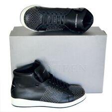 Alexander McQueen New sz 45 US 12 High Top Designer Mens Sneakers Shoes black