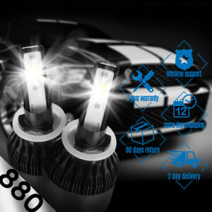 XENTEC LED HID Foglight kit 880 White for 2007-2007 GMC Sierra 1500 Classic