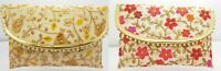 Lovely Handmade Ladies Purse Embroidery Sequin Patchwork Evening Clutch Bag