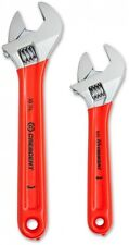 Crescent 6 Inch And 10 Inch Adjustable Wrench Set Durable Nonslip Repair New