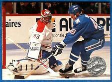 1991-92 Pro Set Platinum PATRICK ROY (ex+) Montreal Canadiens