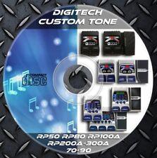 3.342 Patches DIGITECH. RP50-RP80-R70-RP90-RP100A-RP200A-RP300A. Custom Tone