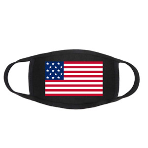 911 Remembrance Patriot Day United States of America USA American Flag Face Mask