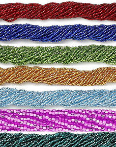 12 Strands Silver Lined Preciosa 11/0 Czech Glass Seed Beads 1 Full Hank