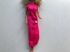 Barbie 70s pink Best Buy (?) dress (Barbie Mattel)