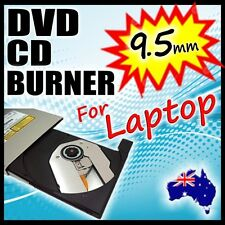 Internal DVD CD Burner Rom Writer Tray Load Drive for Notebook Replacement 9.5mm