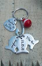 Personalized Fishing Father's Day gift for Dad Grandpa Papa lure fish Keychain
