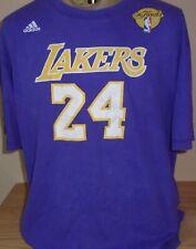 vintage LA Lakers Kobe Bryant adidas NBA Final basketball t shirt
