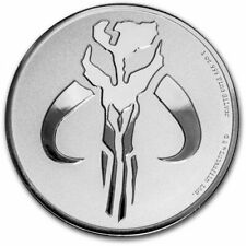 NIUE 2 Dollars Argent 1 Once Star Wars Mandalorian 2020