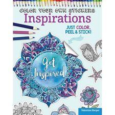 Design Originals -Color Your Own Sticker - Inspirations Rrp16.70