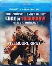 Blu-ray Edge of Tomorrow - Senza domani con Tom Cruise 2014 Usato