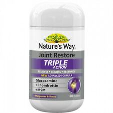 Nature's Way Joint Restore Triple Action 60s - Glucosamine, Chondroitin and MSM