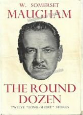 VINTAGE BOOK: THE ROUND DOZEN by Somerset Maugham (World Books) - WITH FREE P&P