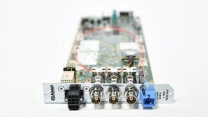 Evertz 7707OE-3G-1 3G/HD/SD Optical to Electrical Converter Fiber 3RU