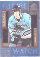 PATRICK MARLEAU, SAN JOSE SHARKS, 1997-98 U/D SP AUTHENTIC, RARE NHL ROOKIE CARD