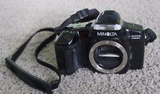 Minolta Maxxum 5000i film camera BODY ONLY, NOT TESTED