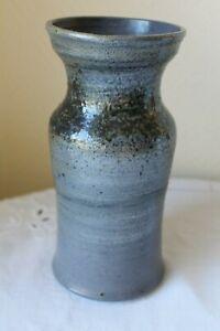 vase en grès d'Alsace - Thann - signé
