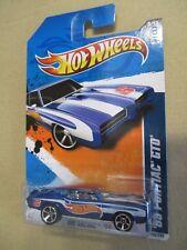 Hot Wheels 1:64 '69 Pontiac GTO HW Racing '11 3/10 153/244