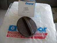 NOS MOPAR 1976,1977,1978,1979,1980 ASPEN,VOLARE WOOD GRAIN GAS CAP 4185063
