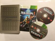 XBOX 360 GAME DEAD RISING 2 / II LIMITED 2-DISC ZOMBREX STEELBOOK EDITION PAL