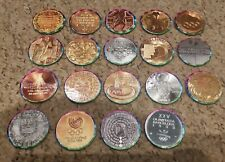 More details for centennial olympic games collection atlanta 1996 caps pogs partial set 19/20 new