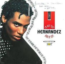 WAYNE HERNANDEZ I'm Not That Kind Of Guy Vinyl 12 Inch Epic HERT 2 1989 Signed